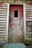 Old weathered door
