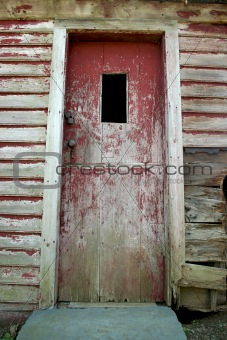 Old weathered door