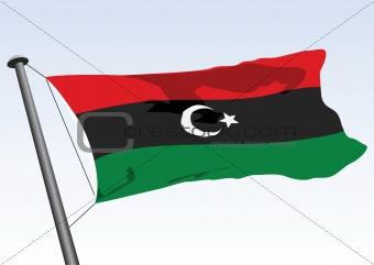 former flag of libya