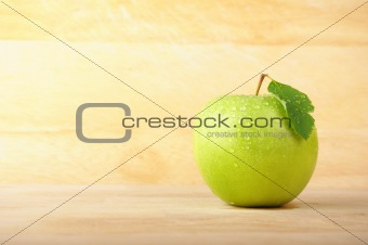 apple and copyspace