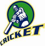 cricket batsman batting