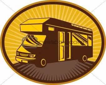 Camper van,caravan or mobile home