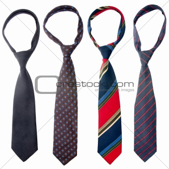 Four ties