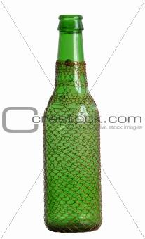 One beer bottle