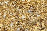 Natural background - old wood shavings