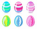 six-easter-eggs