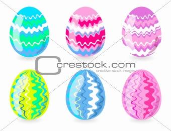 six-easter-eggs