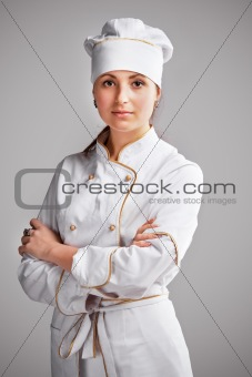 Cute cook girl