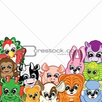 Little Animals - symbols of the Chinese horoscope