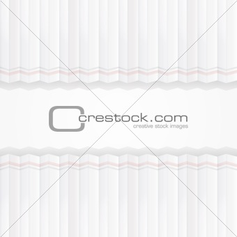 Abstract origami paper tape, vector background.