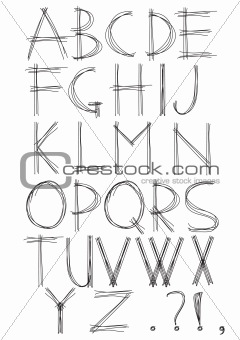 sketch-alphabet
