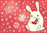 small lovely rabbit