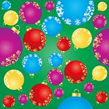 background with color balls