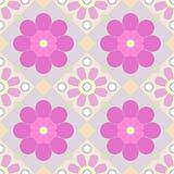 vector pastel seamless floral pattern