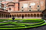 Garden  monastery