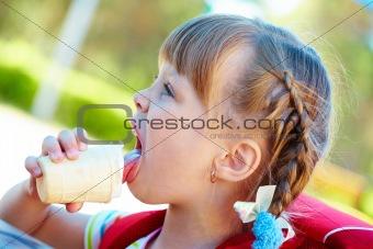 Delicious refreshment