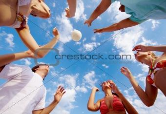 Catching ball