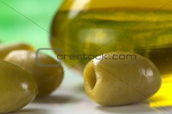Green Olive and Olive Oil