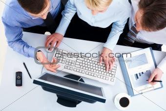 Computer work together
