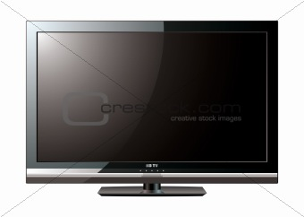 Modern LCD flat screen
