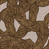 vector seamless oak tree wooden texture