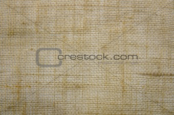 Old texture canvas fabric