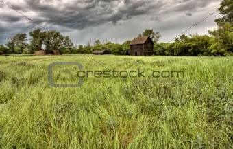 Abandoned Farm Buildings Saskatchewan