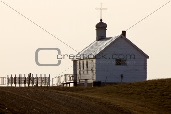 Old Prairie Church