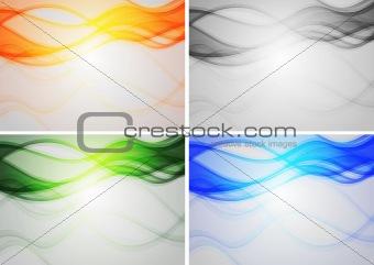 Vibrant backdrops