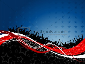fourth of july party background