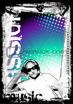 dj poster