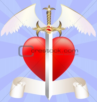 sword and heart