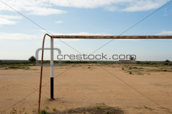 African football pitch
