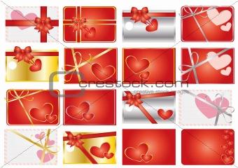 valentine gift labels