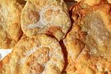 fried sugar round wheat flour toasts