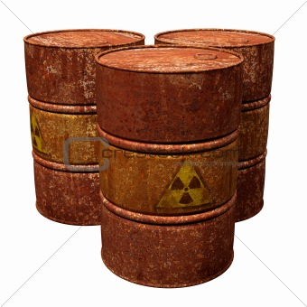 Toxic Waste Drums