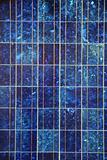 blue solar panel electric plate texture macro pattern