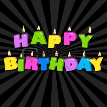 Birthday Illustration Design