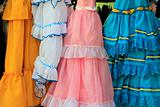costumes gypsy ruffle dress andalusian Spain