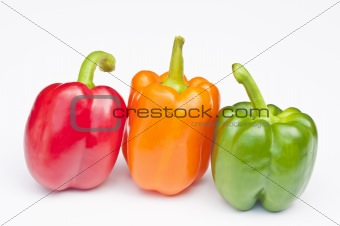 3 coloured Peppers