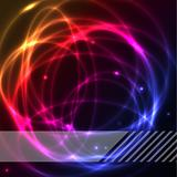 Colorful plasma background