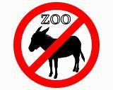 Donkey in zoo prohibited