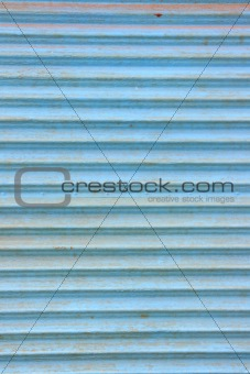 Old corrugated plate