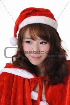 Adorable Christmas girl