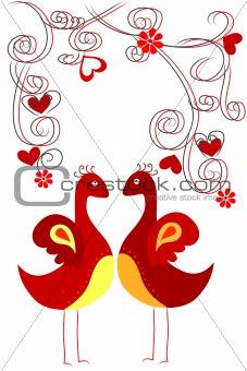 couple bird