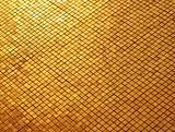 gold mosaic