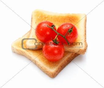 Toast and tomato