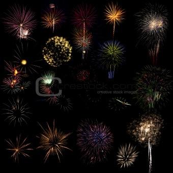 Fireworks samples