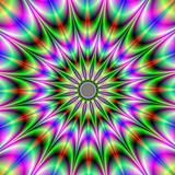Psychedelic Star Burst