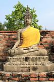 Seating Buddha image